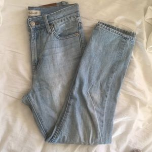 Madewell Perfect Summer/Vintage Jeans